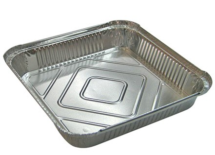 Foil Square Tray Bake<br>225 x 225 x 25mm