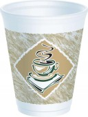 Dart Cafe G Polystyrene Cups8oz, 10oz and 12oz
