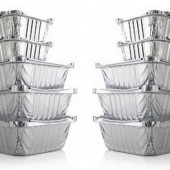 Foil Food ContainersVarious Sizes