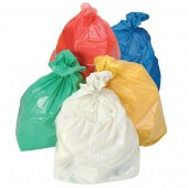"Colour Coded Refuse Sacks18"" x 29"" x 39"""
