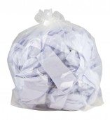"Clear Refuse Sacks18"" x 29"" x 39""Medium & Heavy Duty"