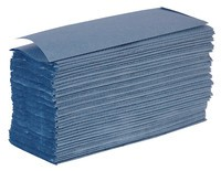 Z-Fold Hand TowelBlue1 Ply
