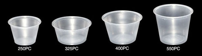 Portion/Sauce Pots<br>Various Sizes
