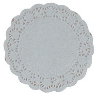 White Lace Paper Doilies<br>Various Sizes