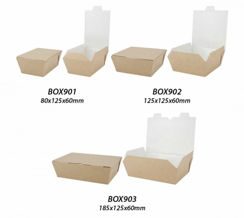 Hot Food Board <br>Takeaway Boxes