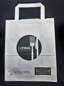 Logo Branded Paper Carrier Bag
