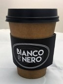 Logo Branded Coffee Cup Sleeve