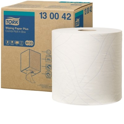 Tork Wiping Paper Plus<br>130042