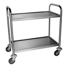 Stainless Steel Food Trolley<br>2 Tier & 3 Tier