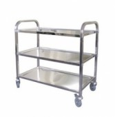 Stainless Steel Food Trolley2 Tier & 3 Tier