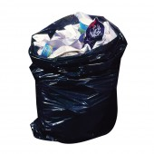"Heavy Duty Black Refuse Sack18"" x 32"" x 39""150 Gauge"